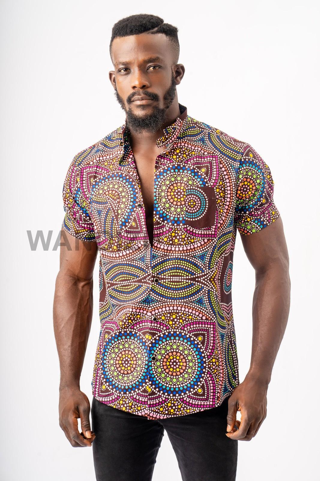 Shirt African Fabric