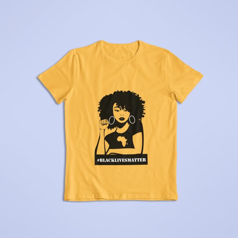 T-Shirt Black lives matter by lakemita - Women T-shirts - Afrikrea