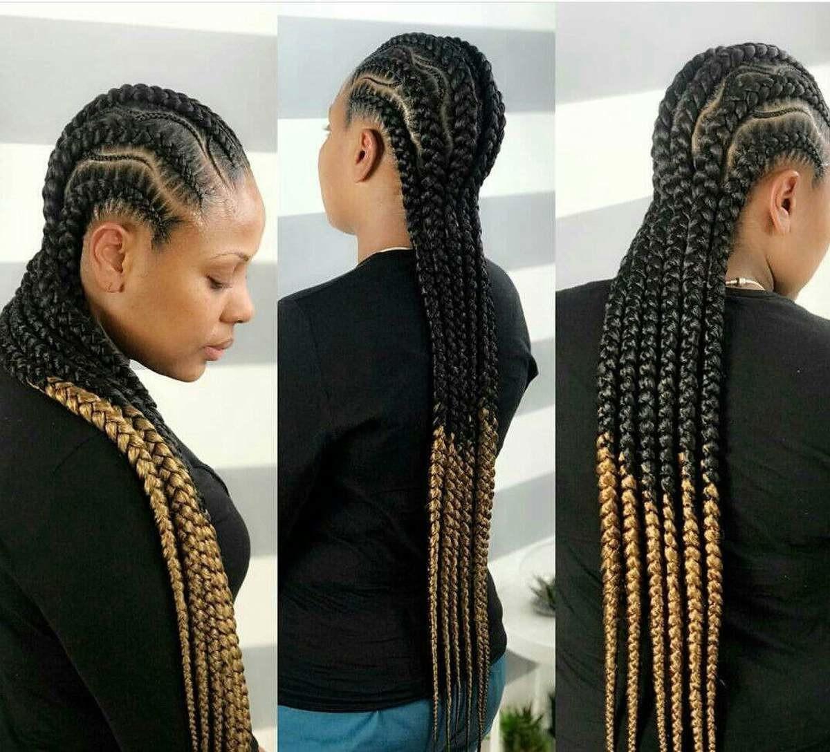 Braided Wig Cornrow Wig Ghana Weaving Wig By House Of Sarah