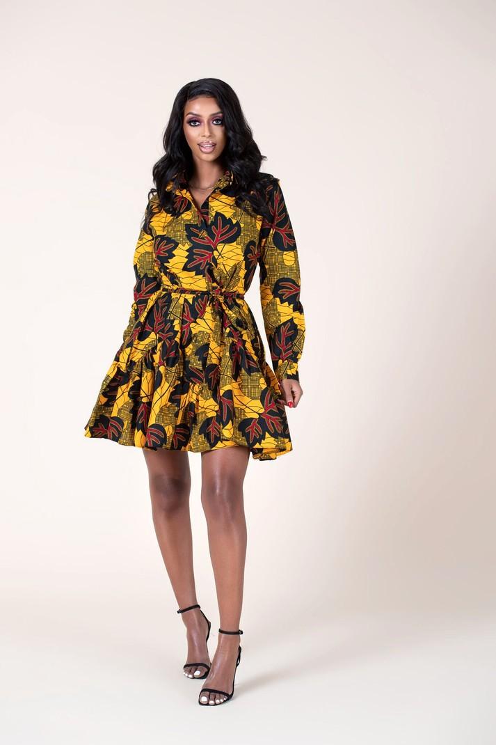 Zohya Womens Woven Casual Wear Shift Dress
