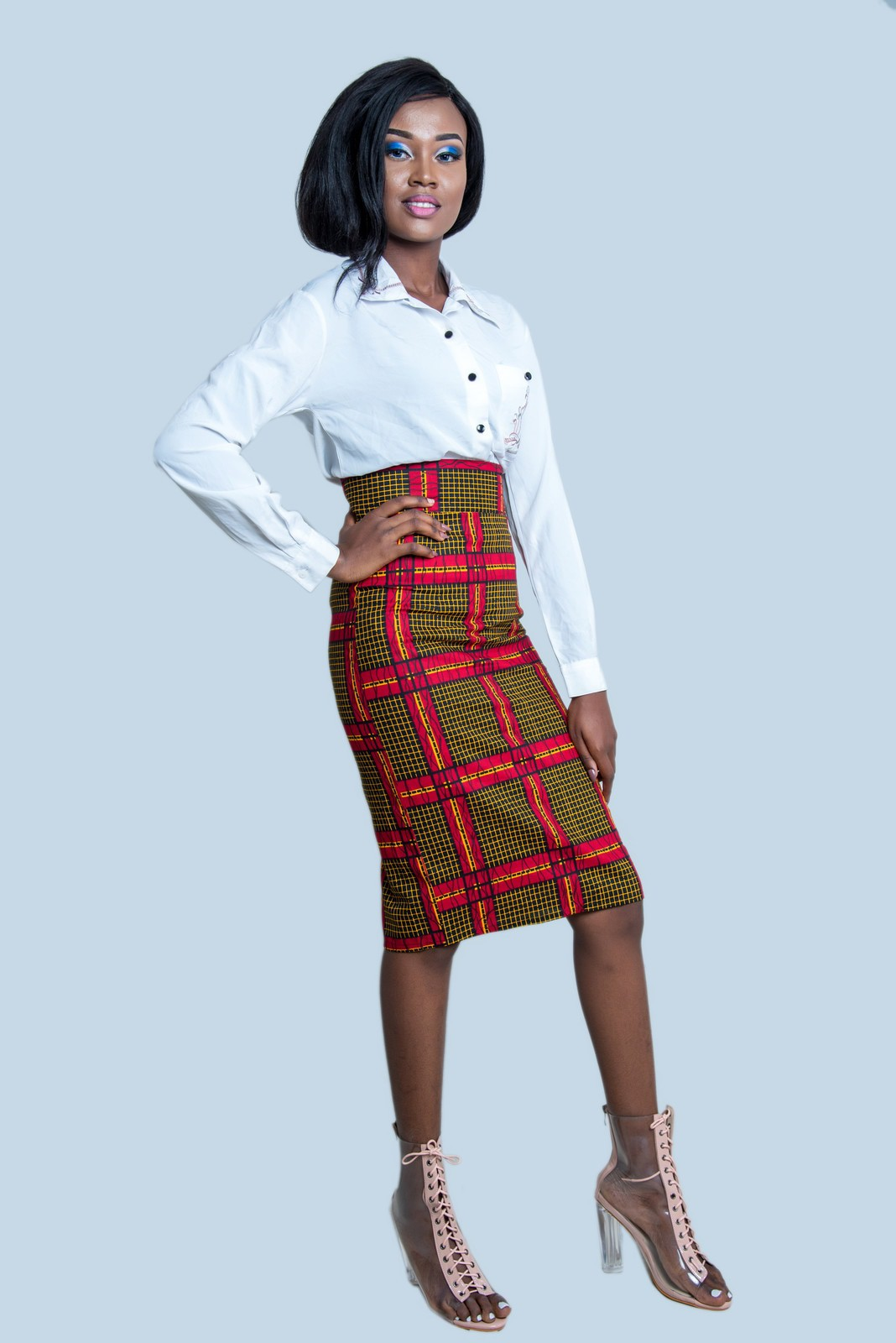 Dashiki Pencil Skirt African Pencil Skirt Ankara Pencil Skirt