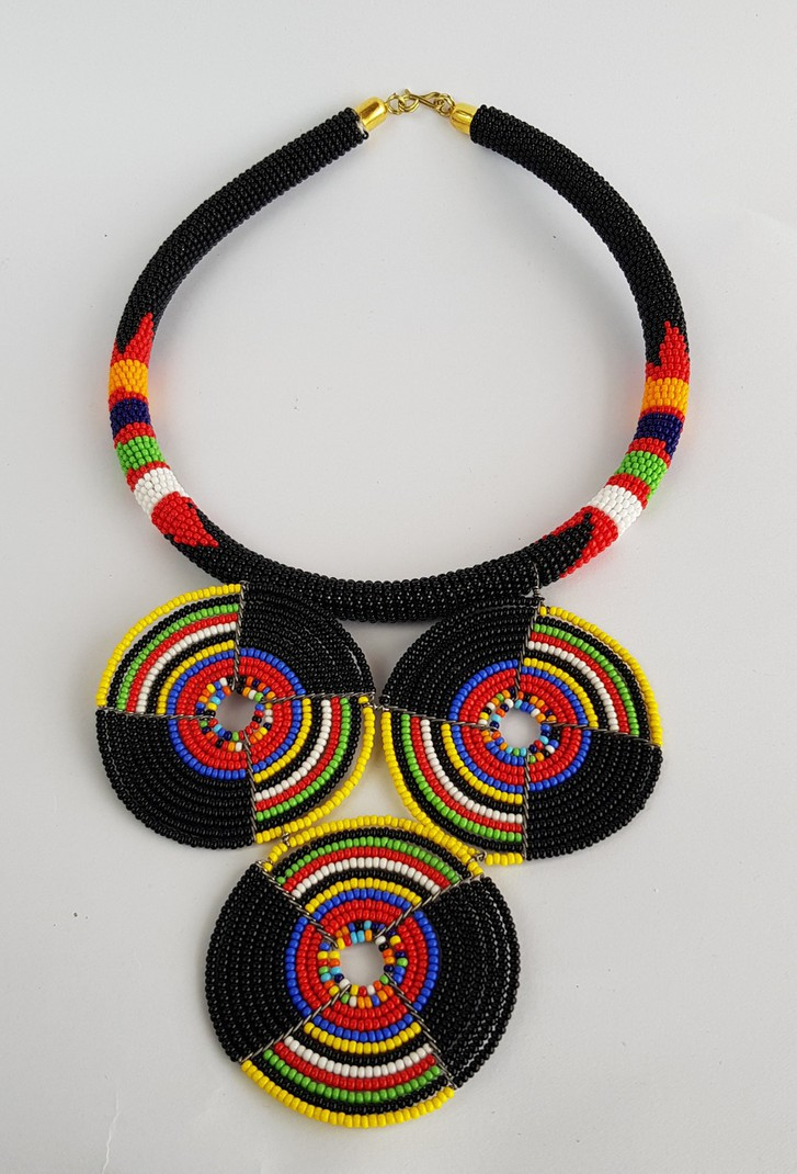 beaded necklaces ON SALE!! African beaded pendant/_ maasai necklace /_ kenyan necklaces /_ women jewelry /_ Handmade necklaces Women fashion