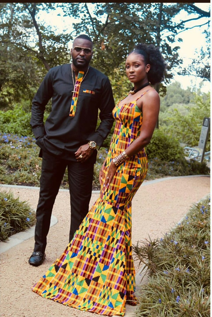 African couple clothing African couple matching outfit African couple attire Ankara suit set African fashion African couple wedding set