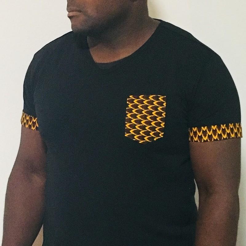 t shirt homme wax