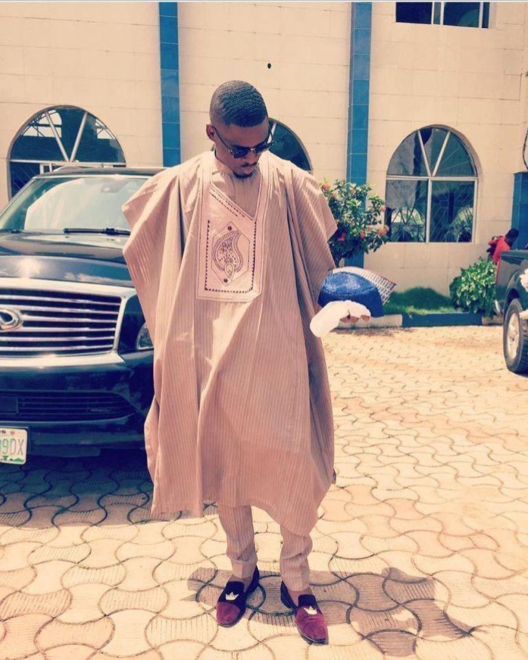 African men\u2019s suit plus FREE matching hat kaftan jalabiya agbada african prince attire
