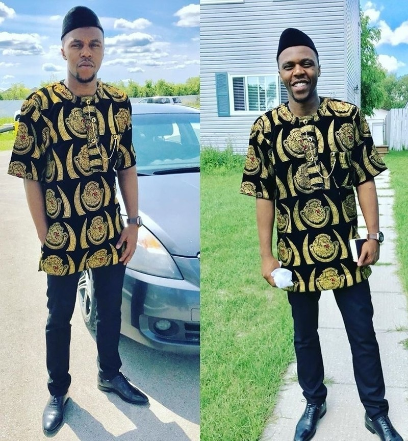 Men Clothing|Authentic isi Agu top African Isi Agu top African Igbo Top