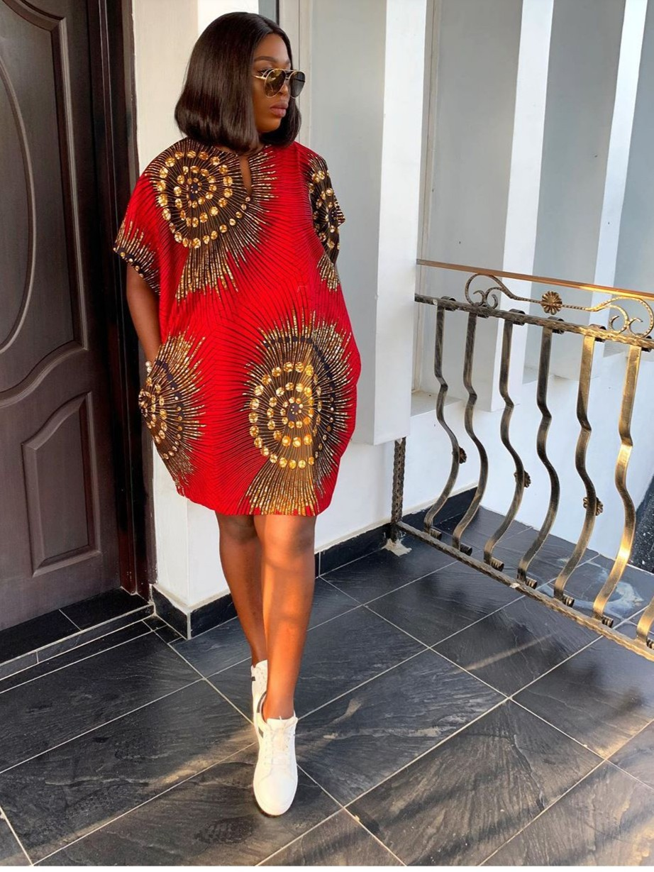 Ini African Mini Dress Ankara Short Dress African Print Dress Short Ank Afrikrea