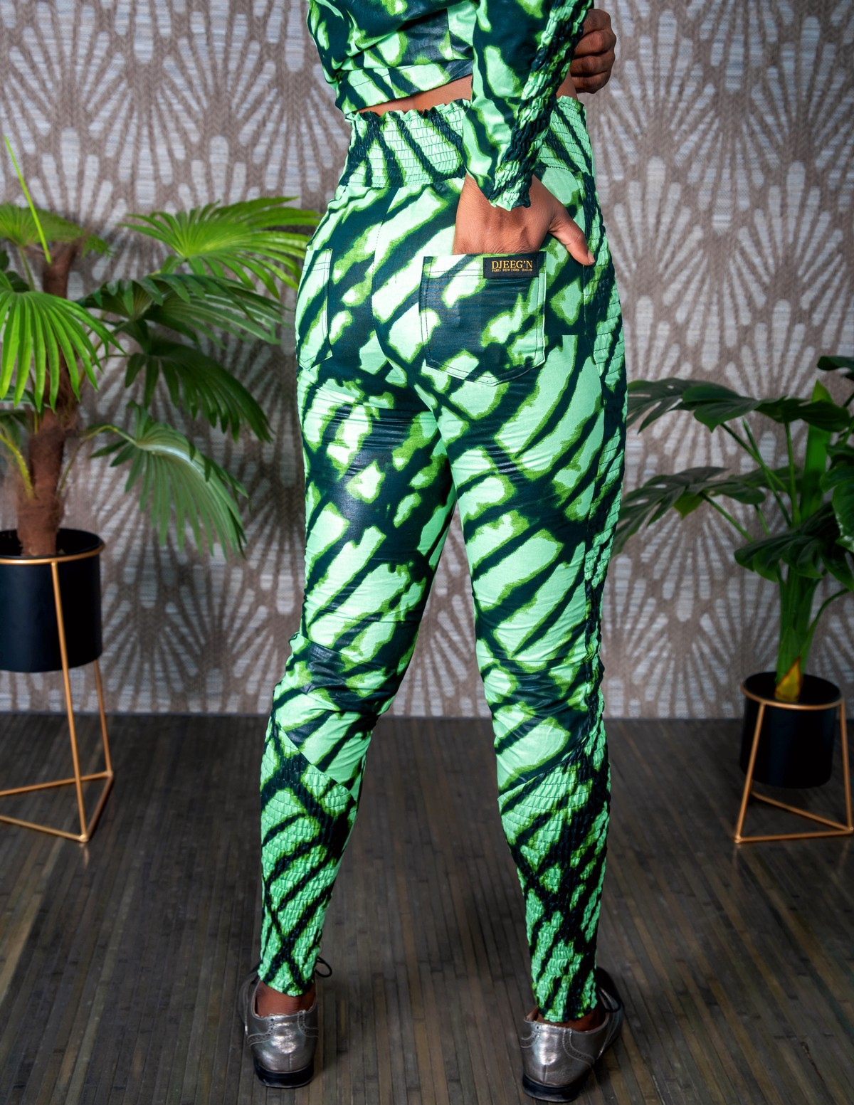 African Print Blouse African Clothing African Trousers Ready to Ship Sets African Print NANA Pants and Blouse Set