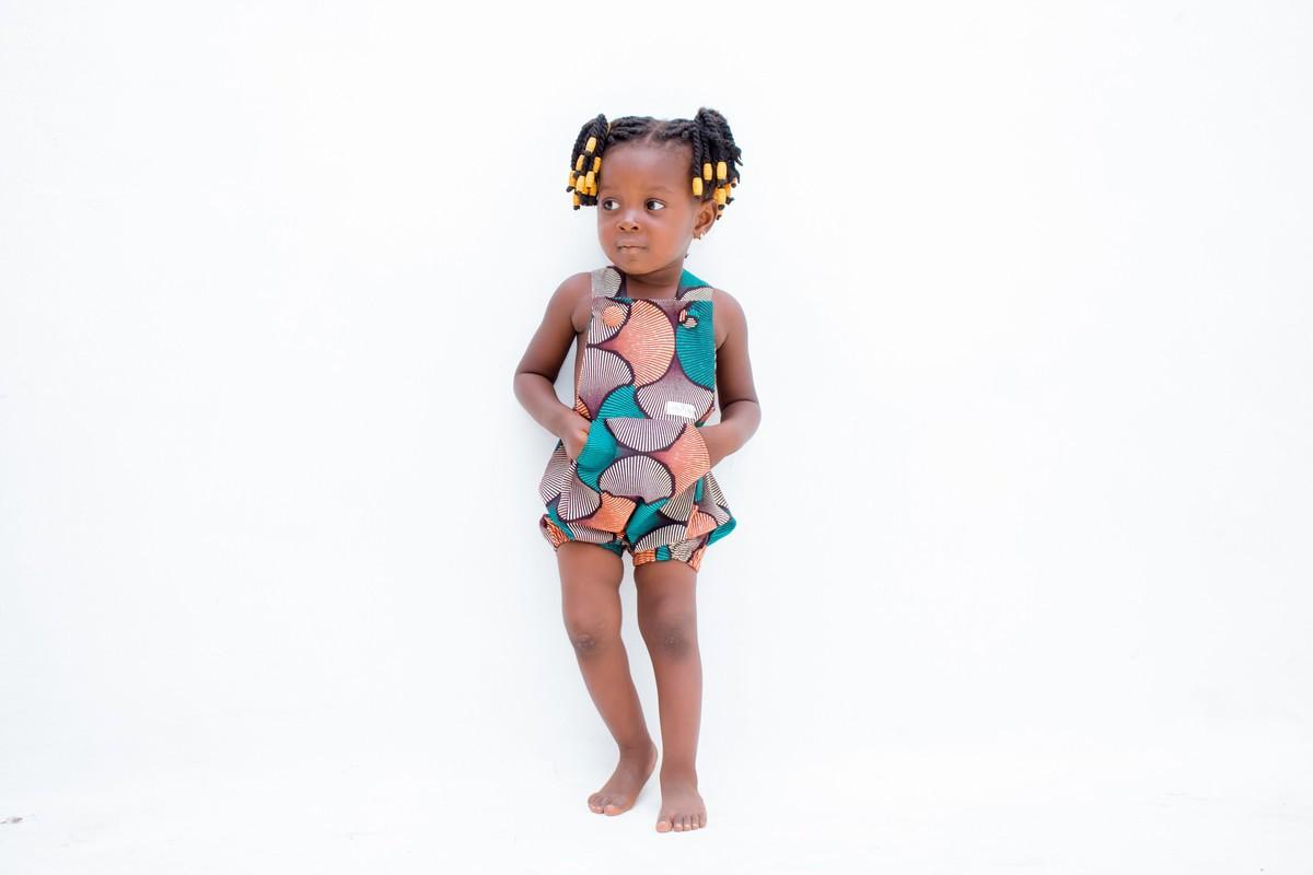Baby Girl Onesie African Onesie Black Girl Baby Grow