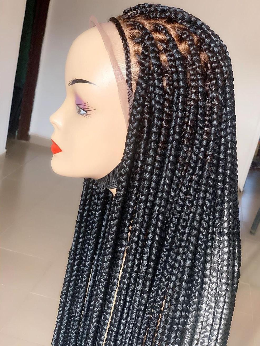 Braided Wig Full Lace wig Wig Braided Full Wig