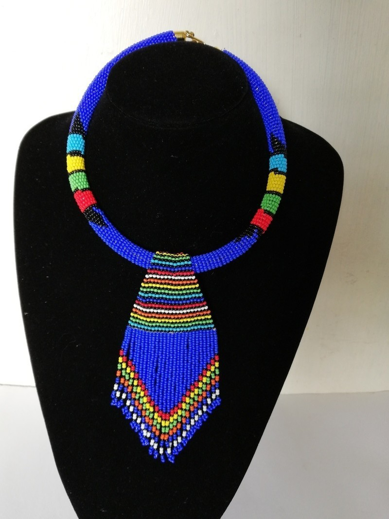 zulu jewelry Black necklace beads Zulu beaded necklace maasai jewelry set jewelry,beaded jewelry set,african necklace African jewelry