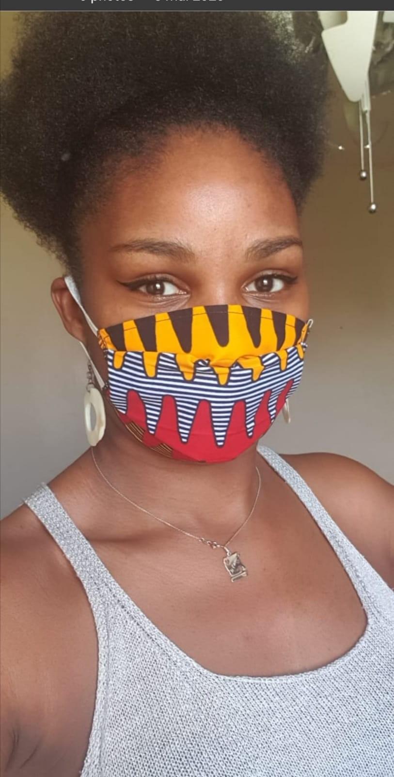 Muffler By Collectifcidesign Ankara Wax Print Afrikrea