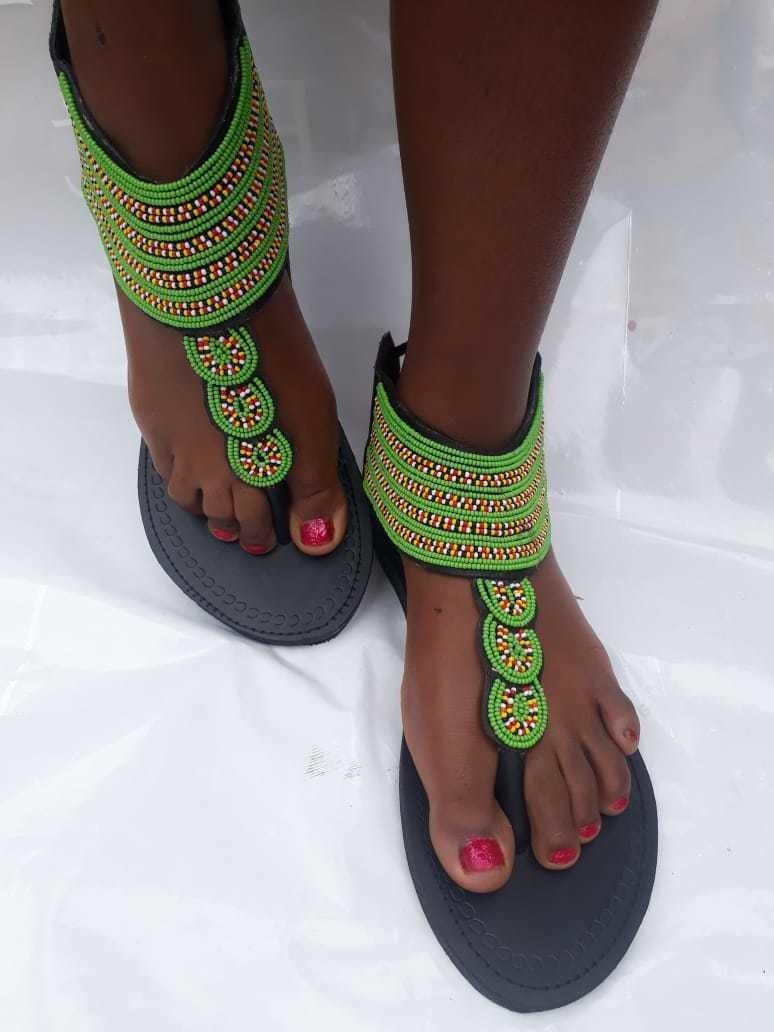 gladiator  maasai sandals  beaded sandals maasai sandals ladies sandals kenyan sandals
