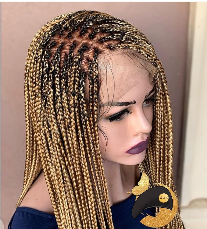 Kamaru Knotless Braid With Frontal Lace By Ileoge Wigs Afrikrea Clients have the option to style. kamaru knotless braid with frontal lace wigs brown blonde black average braided long human hair