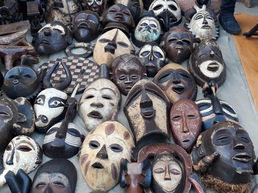 African Warrior Masks By Rmulinde Masks Afrikrea