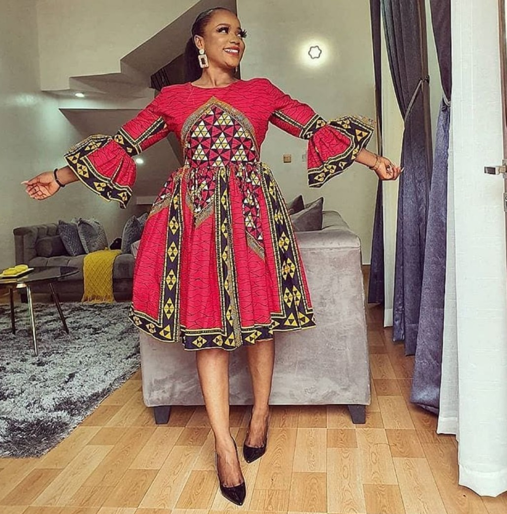 African print midi dress,short Ankara dress,African clothing for women,ankara women clothing,handmade dresses,african summer dresses