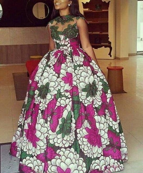 African Dress African Prom Dress African Wedding Dress African Occas Afrikrea