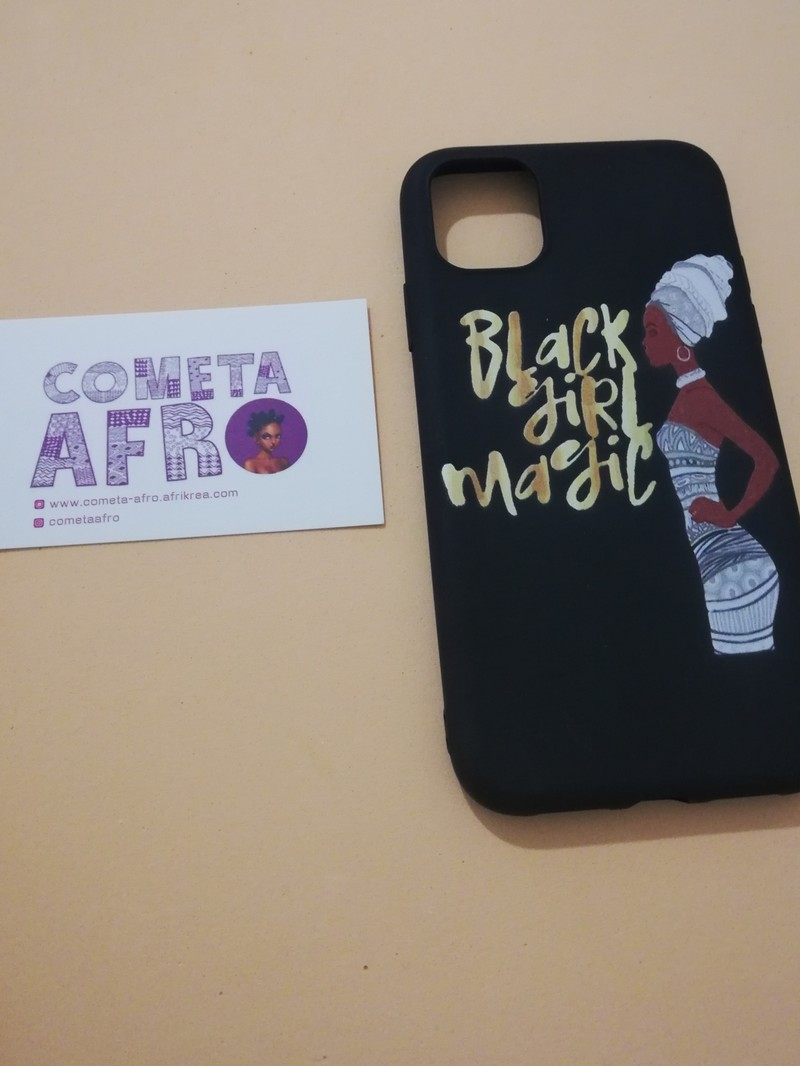Black Girl Magic Iphone 11 Case By Cometa Afro Phone Cases