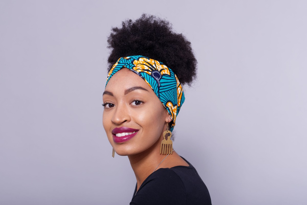 Choose African Fabric Ankara Print Cotton Hair Band Headband
