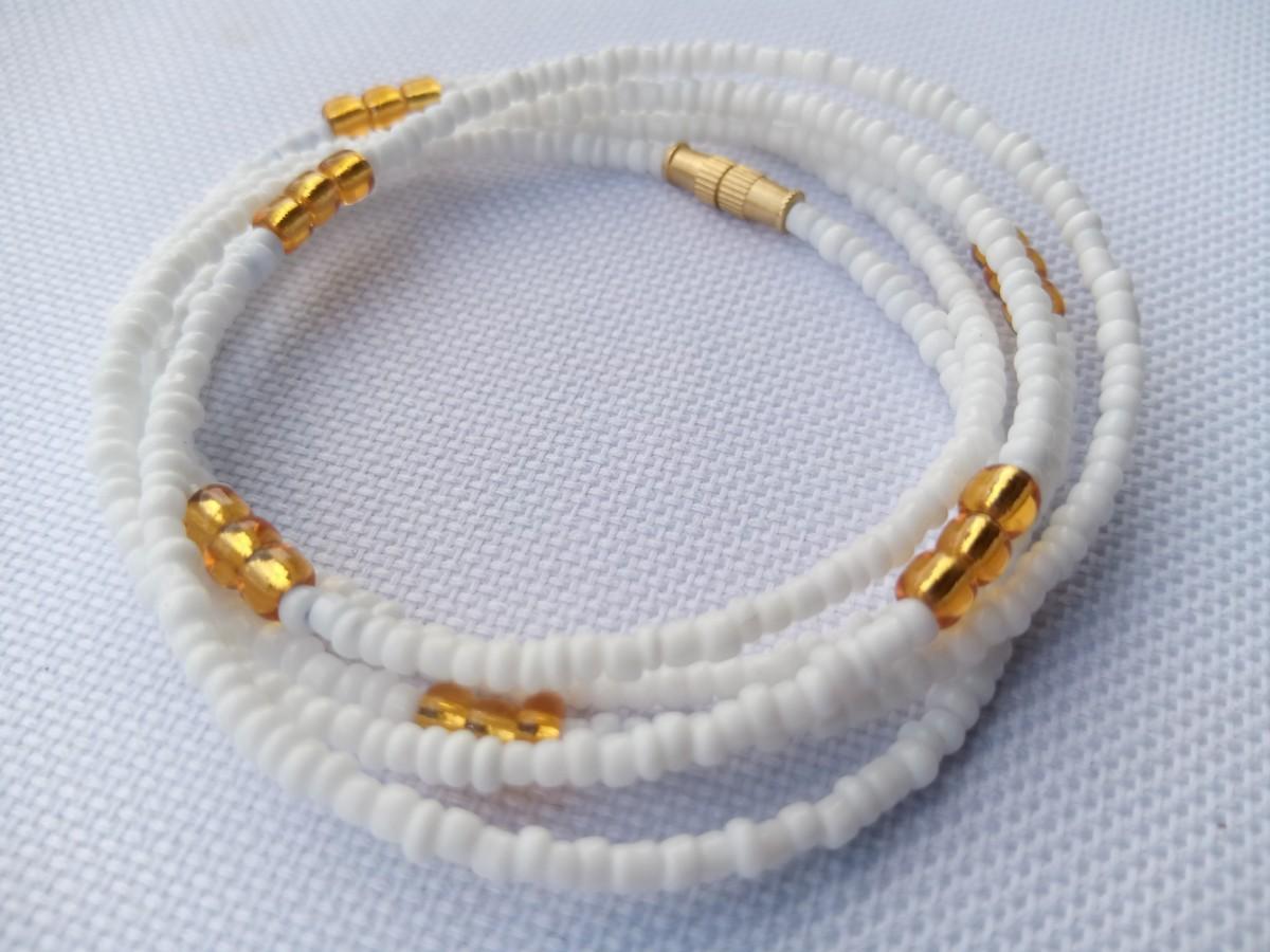 Waist Beads Beautiful Belly Beads Masai Beads Summer Waist Beads For Afrikrea
