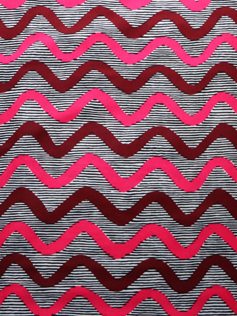 Coupon fabric loincloth wax lozenge yellow red