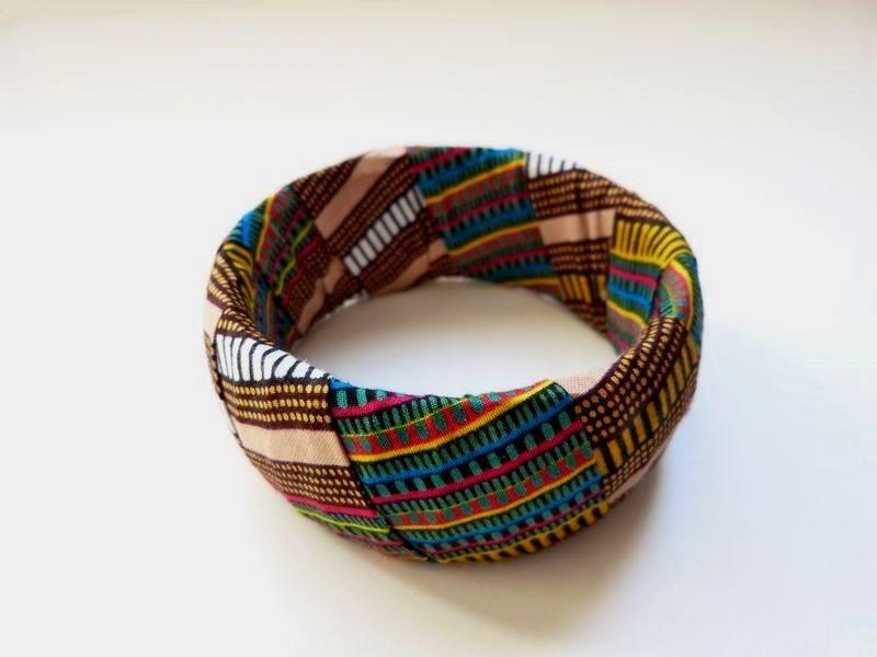 Wax bracelet woman gift african bracelet woman bracelet african jewel african loincloth african print handmade ethnic jewel