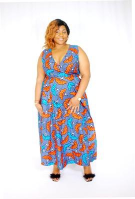 Robe Africaine Femme 2020 Modele Robe Wax Mode Africaine Wax Par As Afrikrea