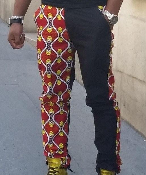 pantalon homme wax