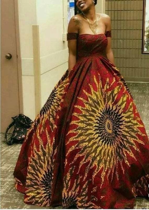 African Dress African Prom Dress African Wedding Dress African Fit A Afrikrea,Plus Size Corset Wedding Dress Uk