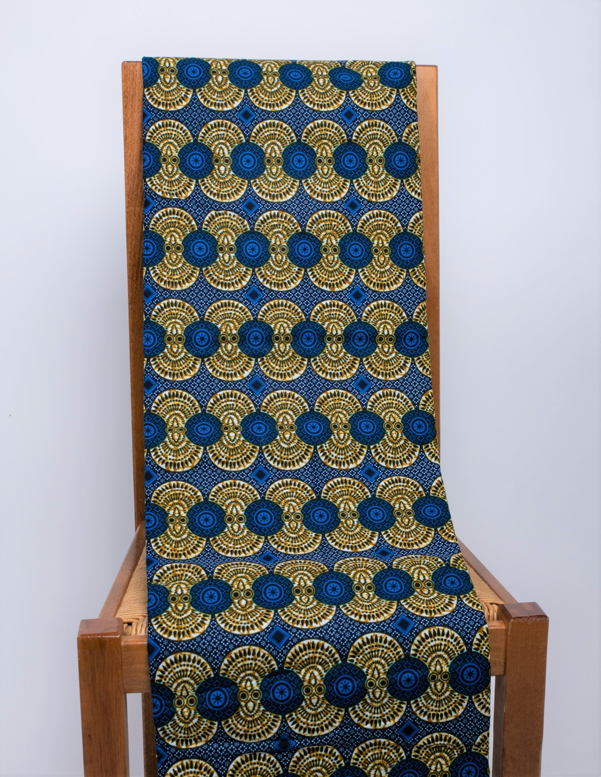 Wax fabric African loincloth coupon 45 cm x 115 cm